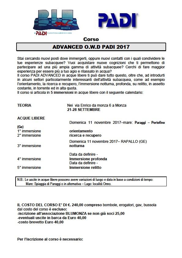 Corso Advance @ Monza | Lombardia | Italia